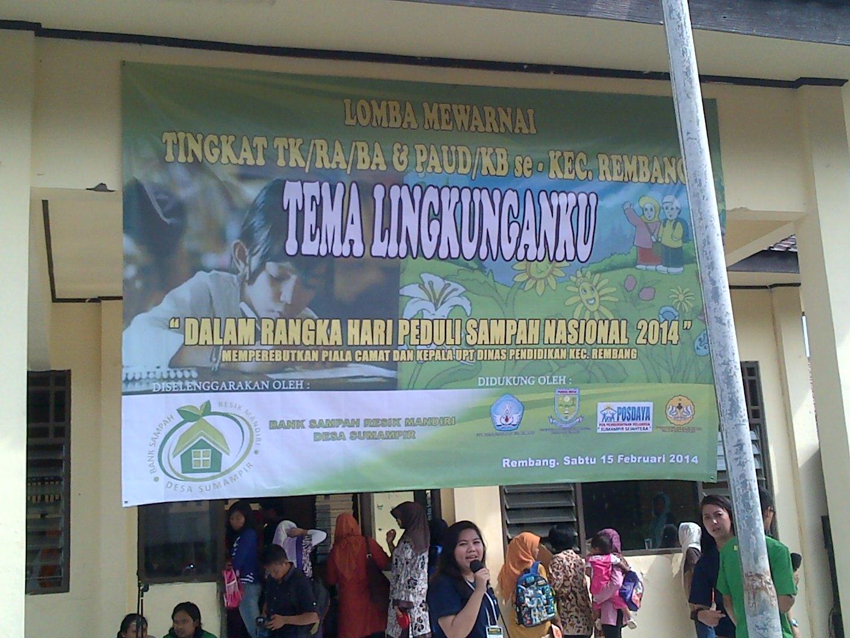 Lomba Mewarnai Tema Lingkungan Memperingati Hari Sampah Nasional