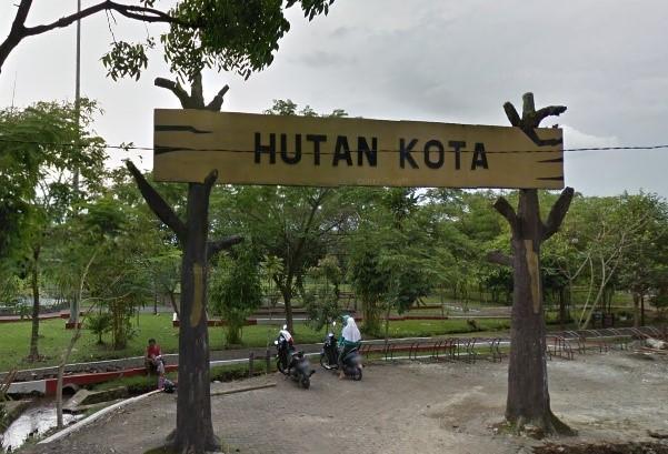 Hutan Kota Depan SMKN 3 Plang